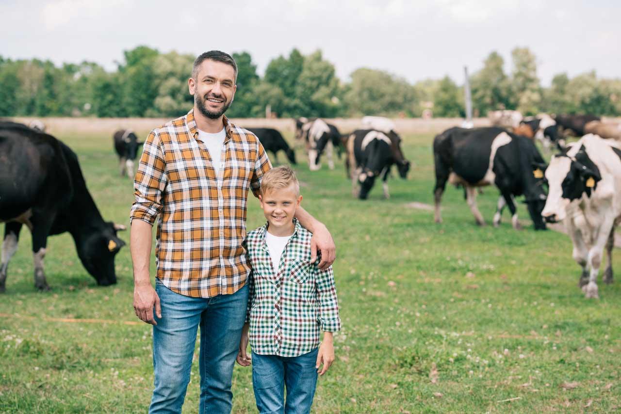 Dairy Farm, Father & Son